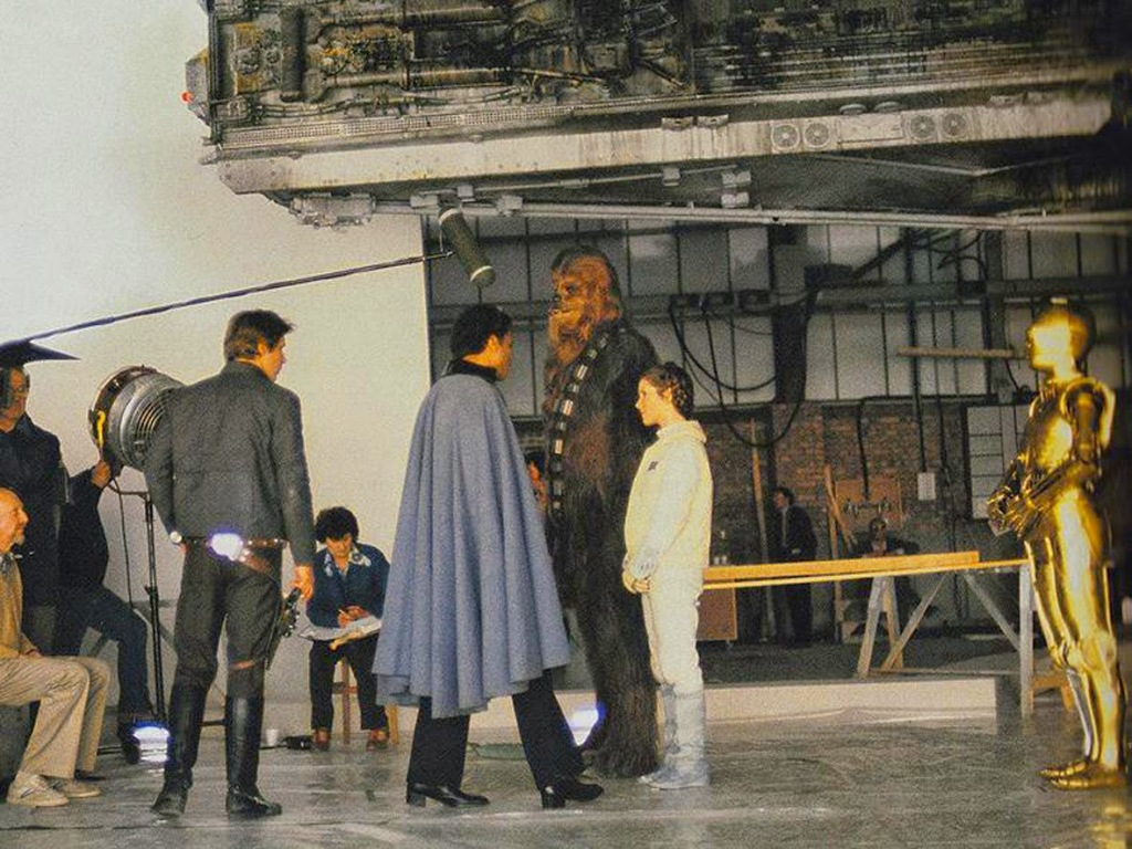 Behind the Scenes on Cloud City
